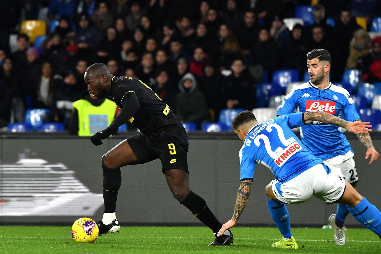 Le migliori immagini del big-match del San Paolo tra Inter e Napoli