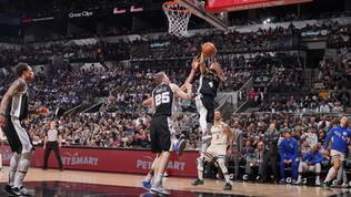 Gli Spurs sorprendono iBucks, Gallinari e Thunder ko