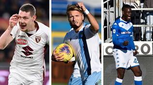 Immobile-Belotti-Balotelli, che weekend: Mancini gongola