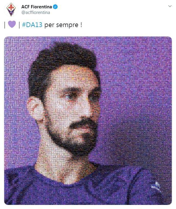 """Oggi Davide Astori avrebbe compiuto 33 anni, lo ricordano i suoi club da calciatore sui social. """"#DA13 per sempre!"""", è il tweet della Fiorentina. """"Buon compleanno Davide"""", twitta invece la Roma. """"Per sempre con noi. 7 gennaio 1987"""", è invece il pensiero del Cagliari.Anche il sindaco di Firenze Dario Nardella, con un post sul proprio profilo Facebook, ha voluto ricordarlo."""