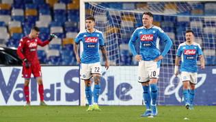Il Napoli non c'è più, tra errori difensivi e tabù San Paolo