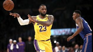 Basket, Nba: i Lakers ingranano la sesta, i Thunder volano con Paul