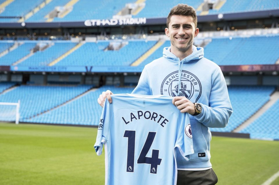 3 - AYMERIC LAPORTE dall'Athletic Bilbao al City (65 milioni)