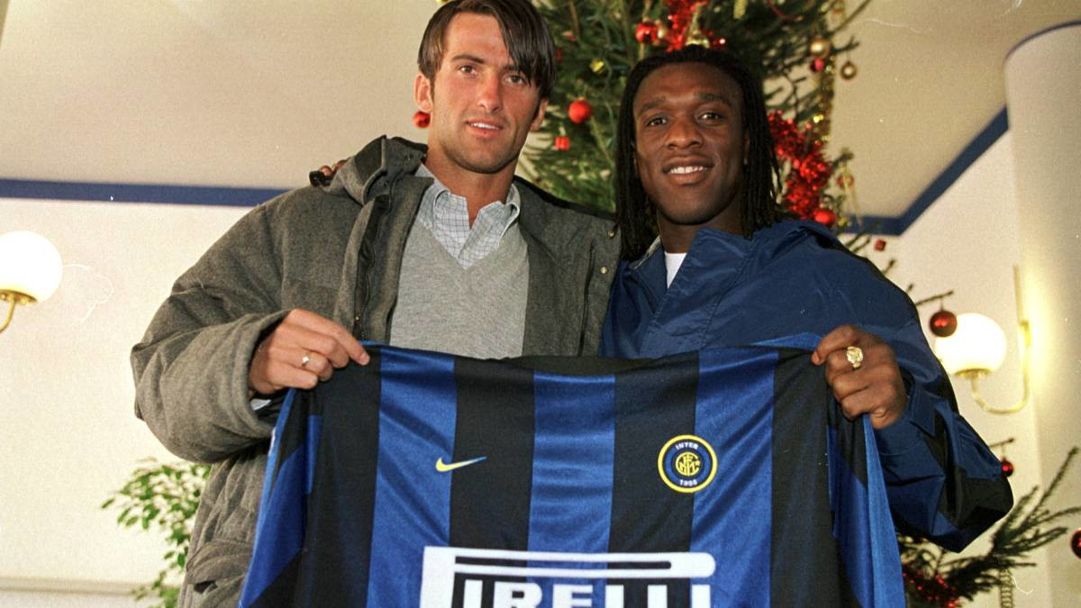 5 - Clarence Seedorf - Dal Real Madrid all'Inter nel 2000