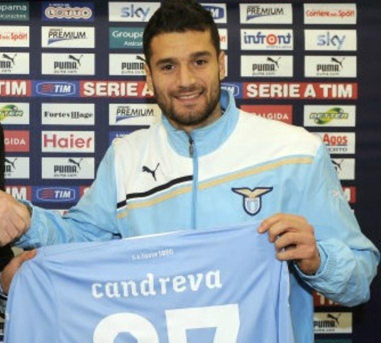 10 - Antonio Candreva - dall'Udinese alla Lazio nel 2012