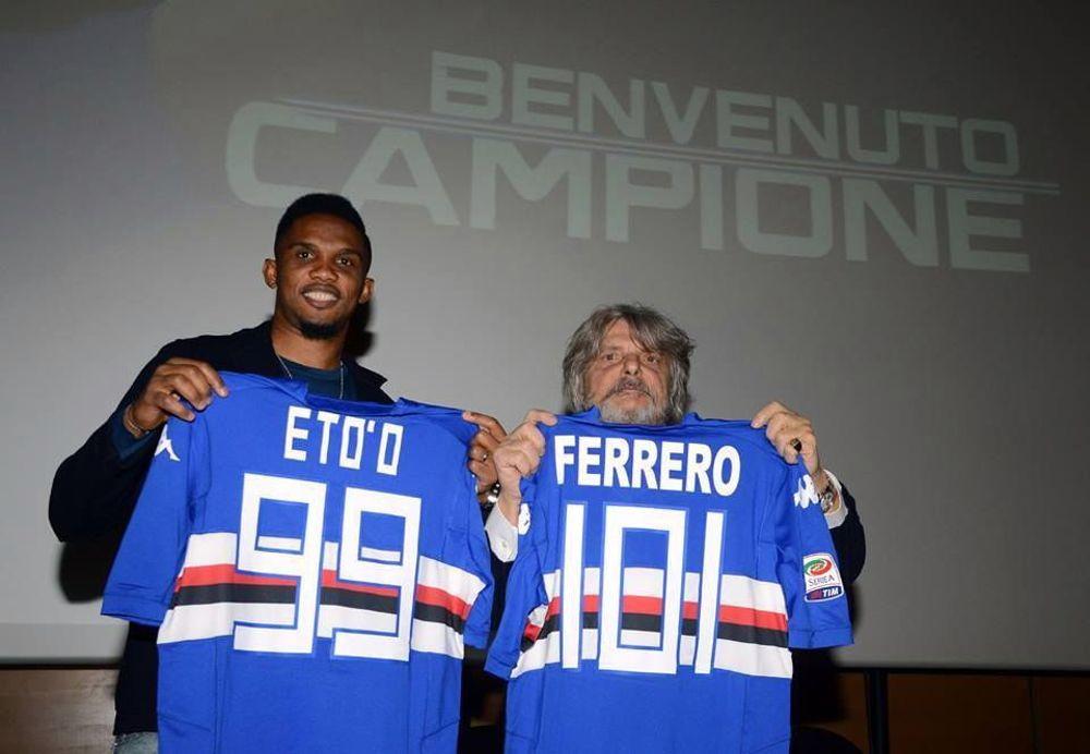 2 - Samuel Eto'o (Sampdoria 2015)
