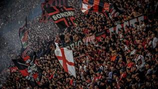 Accuse da Genova: coro dei tifosi del Milan sul Ponte Morandi