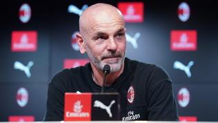 """Milan, Pioli: """"Voglio più qualità in attacco. Ibra sta bene, ma non ha i 90'"""""""
