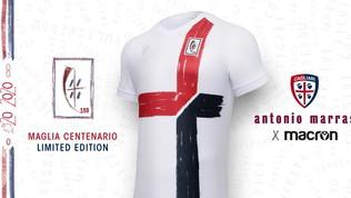 Cagliari, maglia speciale per il centenario