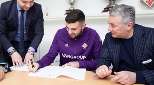 Fiorentina,Cutroneha firmato