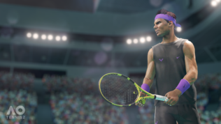 Agli Australian Open con AO Tennis 2 e Switch