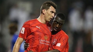 Mandzukic, primo gol con l'Al Duhail