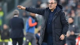 """Sarri: """"Roma squadra pericolosa, de Ligt ancora acciaccato"""""""