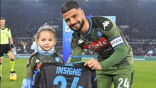 """Lazio-Napoli, ospite speciale: """"Noemi all'Olimpico fa bene al calcio"""""""