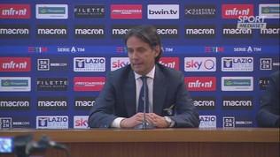 """Lazio,"""" Inzaghi: """"Fa piacere, è un record bellissimo"""""""