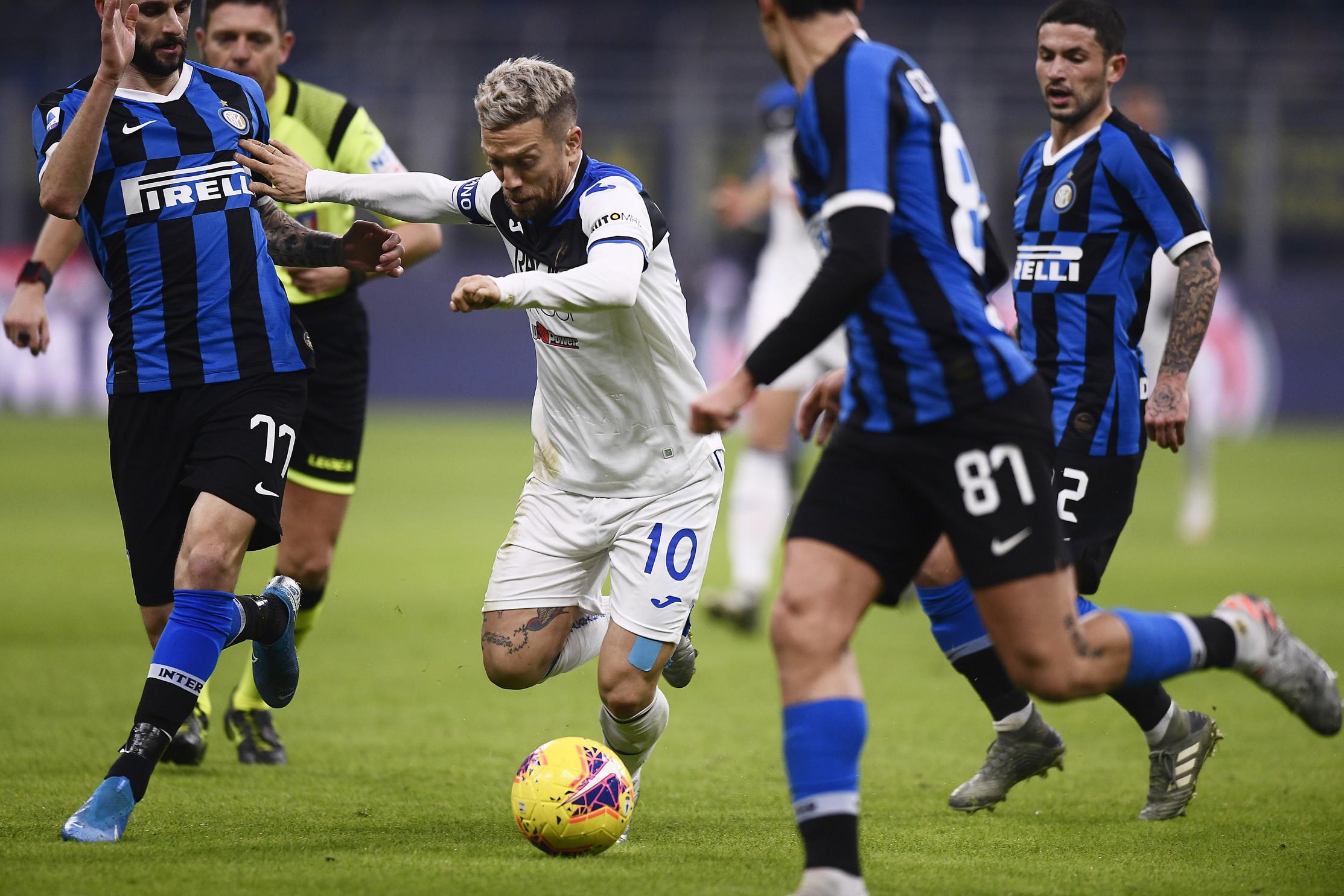 Le migliori foto del big-match di San Siro tra Inter e Atalanta