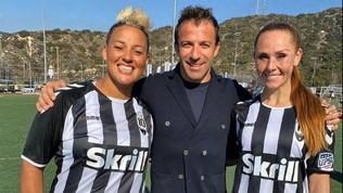 Del Piero fa ancora la storia, 2 donne in campo con gli uomini