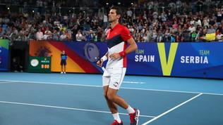 Djokovic batte Nadal, alla Serbia la finale con la Spagna