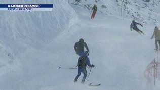 I rischi dello sci: infortuni e metodi di cura
