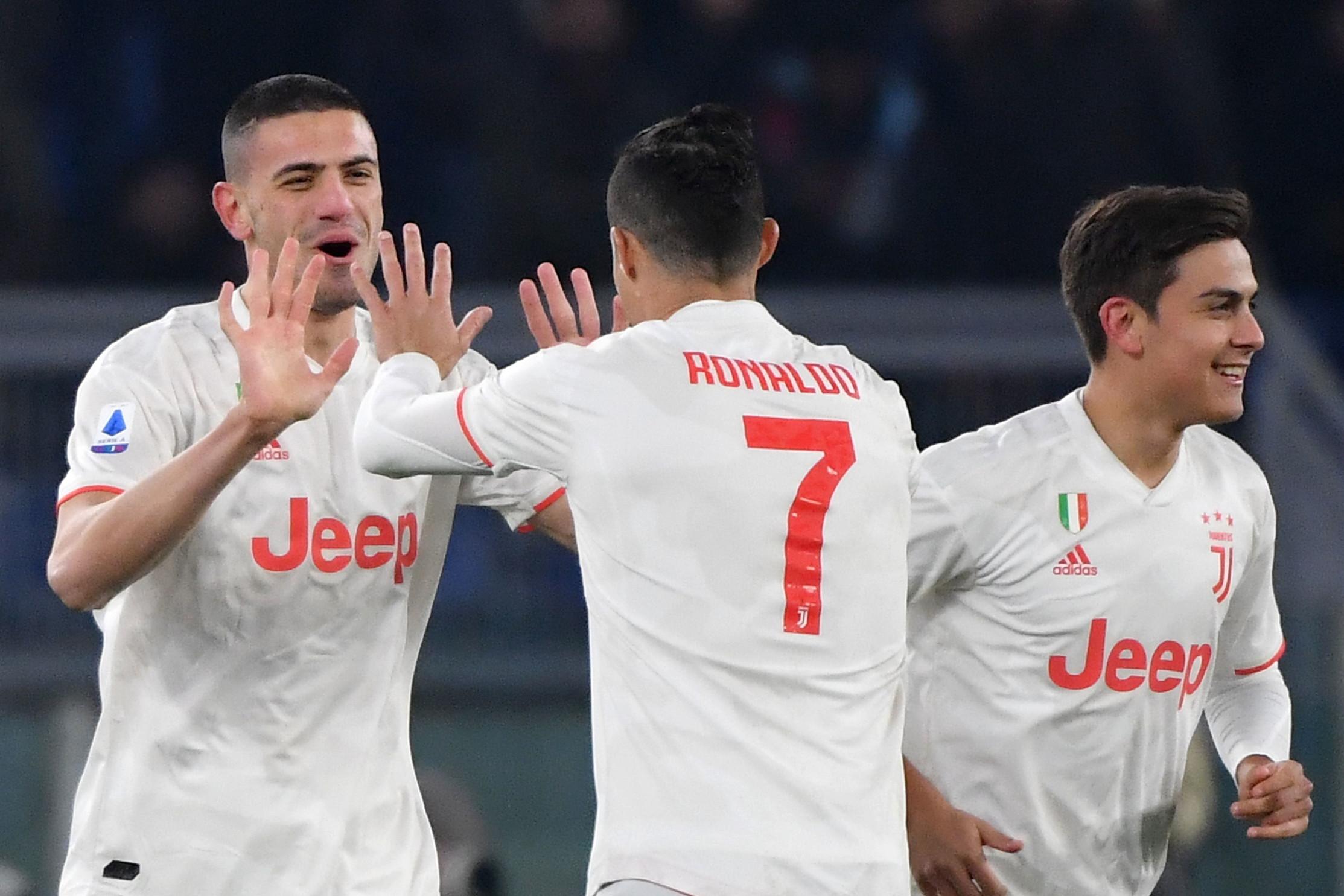 Le migliori immagini della sfida di Serie A tra Roma e Juventus