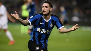 Inter-Roma, si lavora allo scambio Politano-Spinazzola