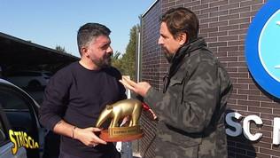 """Tapiro d'oro per Gattuso: """"Dobbiamo andare tutti da San Gennaro"""""""