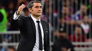 Barça, esonerato Valverde: al suo posto Quique Setién
