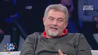 """Tiki Taka, Ciccio Valenti e la passione Inter: """"Amo Conte!"""""""