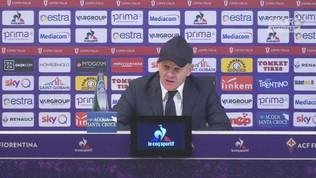 """Fiorentina, Iachini: """"Prendiamo esempio dall'Atalanta"""""""