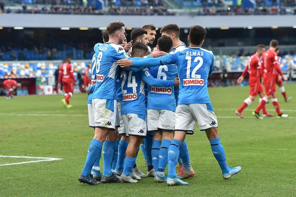 Coppa Italia, Napoli-Perugia 2-0: le foto del match   Foto ...
