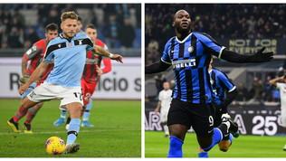 Immobile e Lukaku, è una Coppa Italia da record
