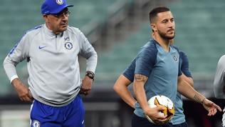"""Hazard stronca Sarri e Conte: """"Con loro perdi il piacere di giocare"""""""