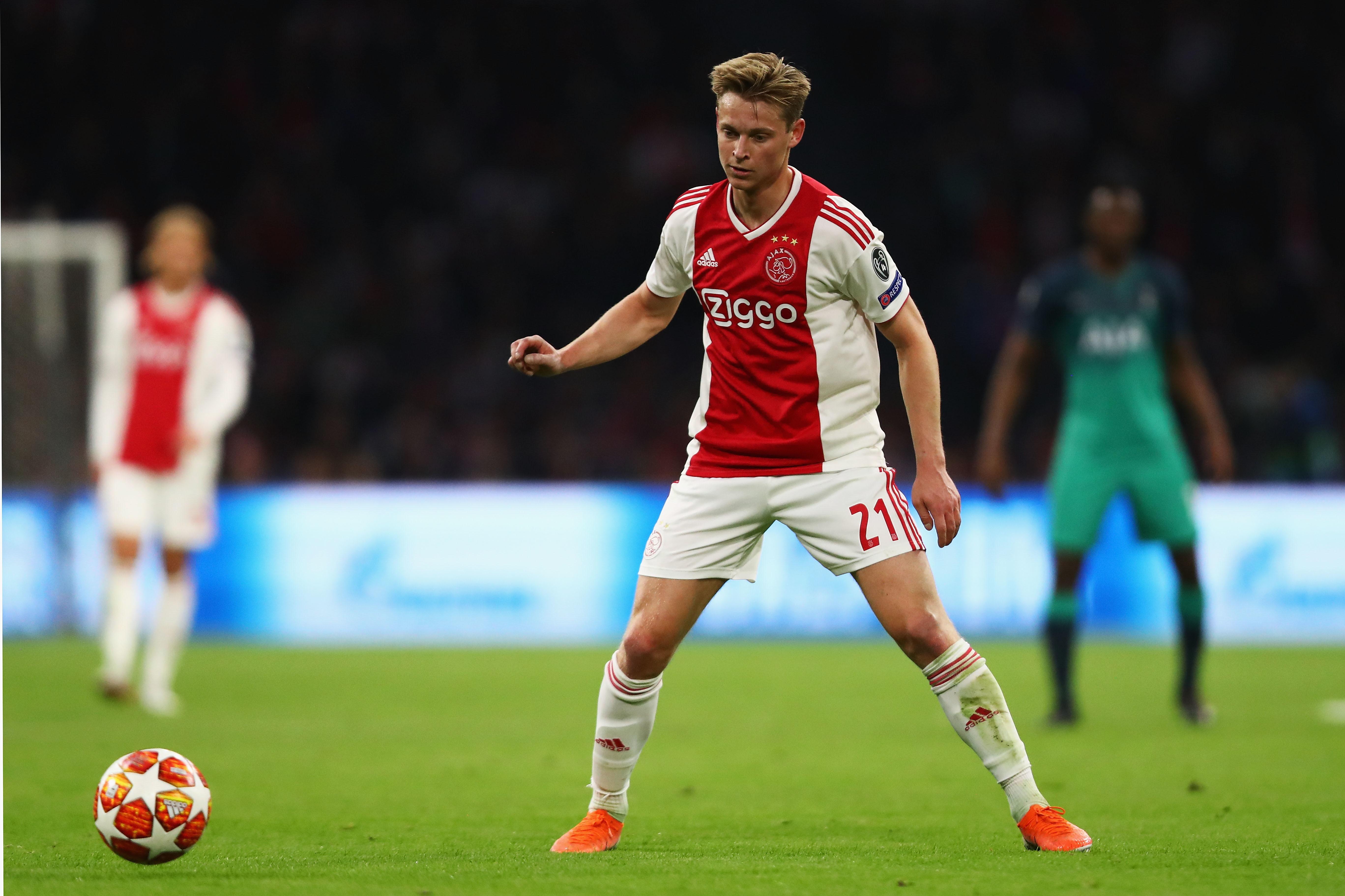 De Jong (Ajax/Barcellona)