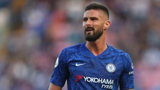 Inter-Giroud: 6,5 milioni al Chelsea, visite nel weekend?