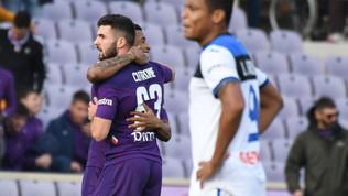 Cuore Fiorentina: batte l'Atalanta e vola ai quarti