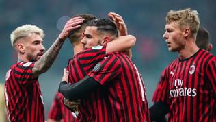 I rossoneri battono la Spal 3-0 con gol di Piatek, Castillejo e Hernandez