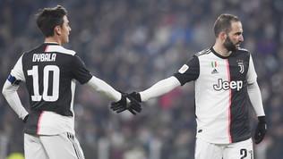 Udinese non pervenuta, la Juve vola ai quarti con Dybala e Higuain