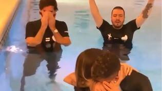 Battesimo Firmino, grandi emozioni: Alisson in lacrime