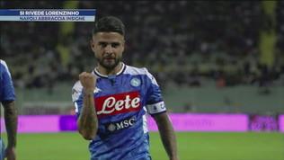 Napoli: si rivede Lorenzinho