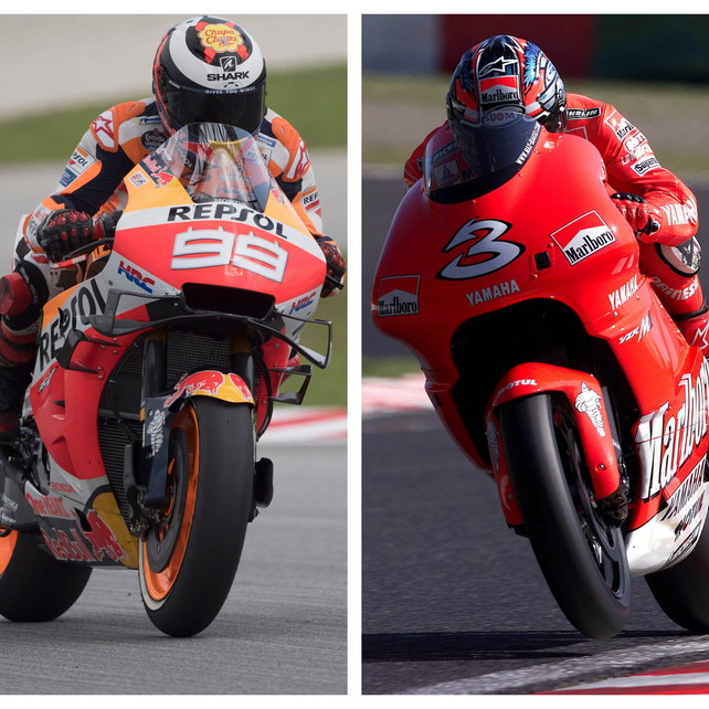 La MotoGPonora Lorenzo e Biaggi: nominati Legends
