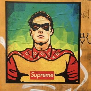 Roma, Zaniolo diventa un supereroe: murale a Trastevere