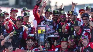 La prima Dakar araba incorona Sainz e Brabec