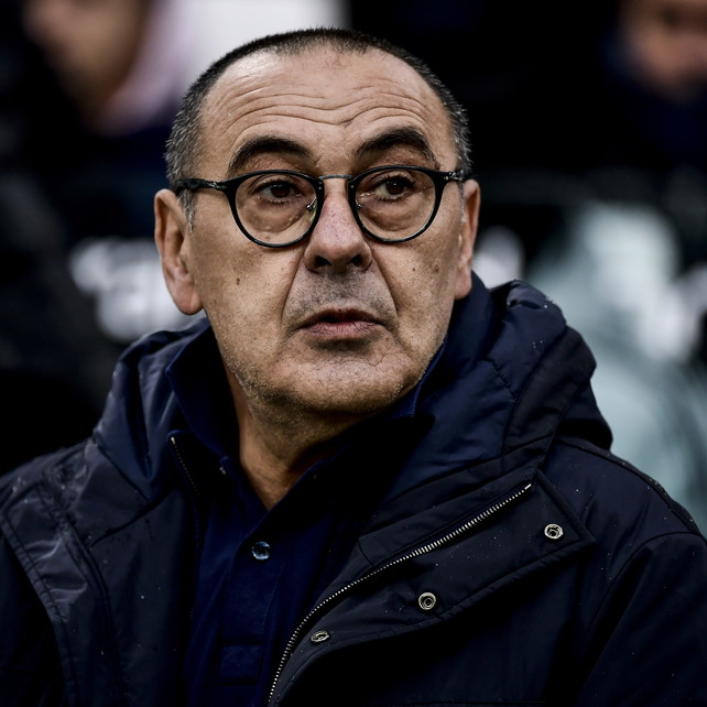 "Sarri: ""Non penso all'Inter. Tridente? Serve equilibrio..."""