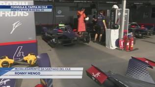 Formula E, tappa in Cile