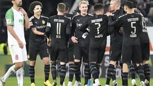 Il Borussia scopre Haaland: che rimonta. Lipsia sempre più primo