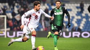 Sassuolo-Torino 2-1, De Zerbi respira