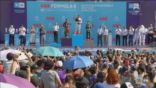 E-Prix Santiago, la festa del podio