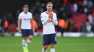 Eriksen saluta il Tottenham, affondo decisivo dopo il weekend