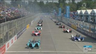 Formula E, E-Prix di Santiago: gara integrale