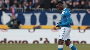 'Vaffa' all'arbitro,Balotelli espulso dopo otto minuti